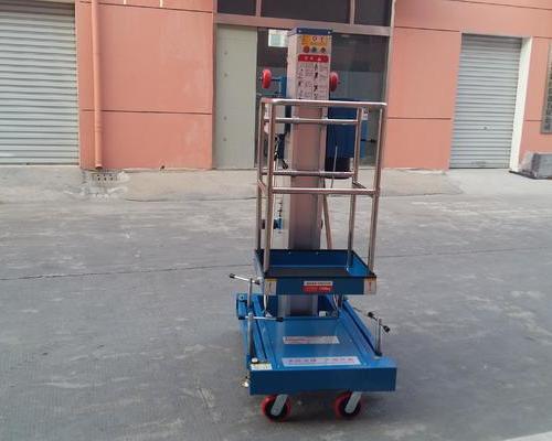 万科集团某物业---单桅式高空作业平台(装车式)DN06087