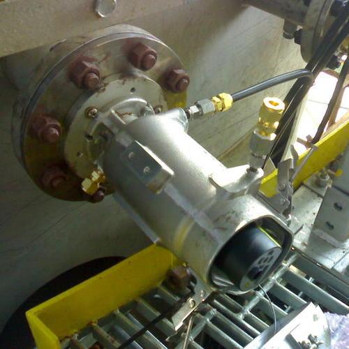 江苏某电厂锅炉炉膛烟气温度测量项目