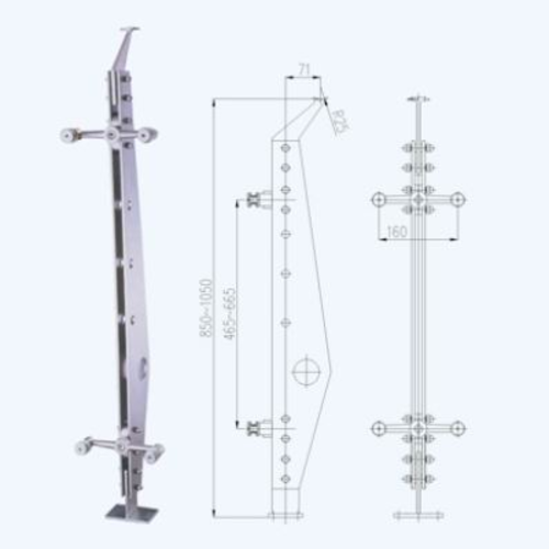 不銹鋼立柱lz01