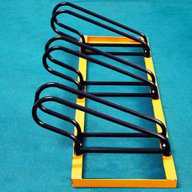 自行车停放架 助动车停靠架 卡位自行车摆放架 上海螺旋型自行车架 不锈钢自行车架