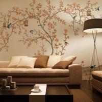 沙发墙彩绘实拍000016