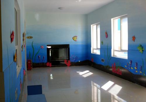 幼儿园室内彩绘