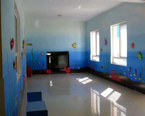 幼兒園室內彩繪