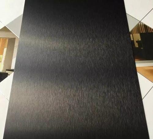 6296黑色拉丝铝板