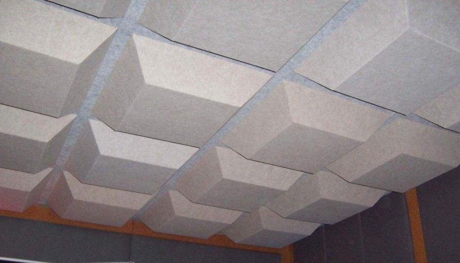 聚脂纤维吸音板 