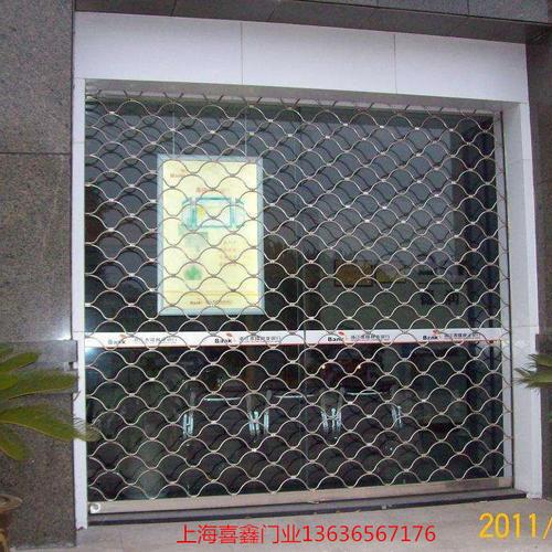 不锈钢网型卷帘门1