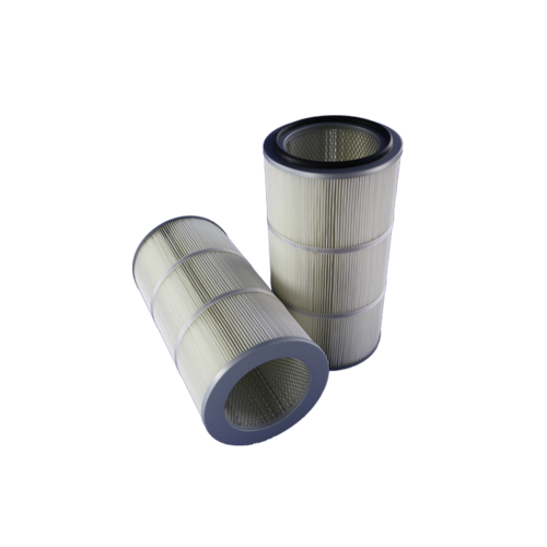 Polyester filter cartridge