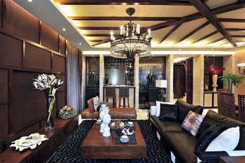 广州东南亚风格家居装修设计效果图