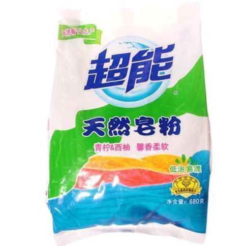 超能天然皂粉  680克