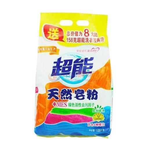 超能天然皂粉 1.028千克