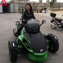 婚庆租车-庞巴迪Can-Am Spyder三轮摩托