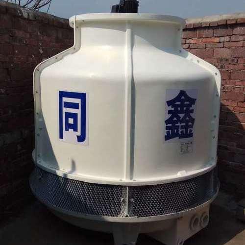 安福圆形逆流式玻璃钢冷却塔