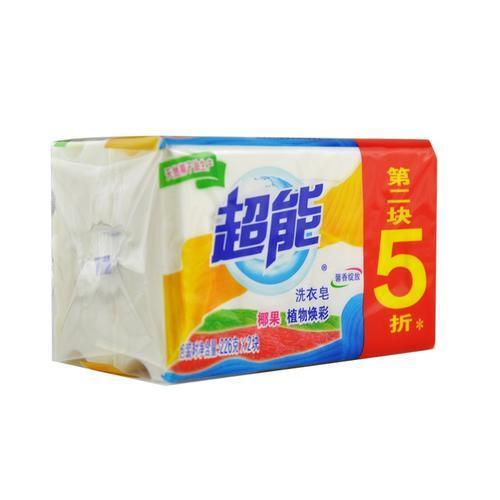 超能洗衣皂 226克x2块