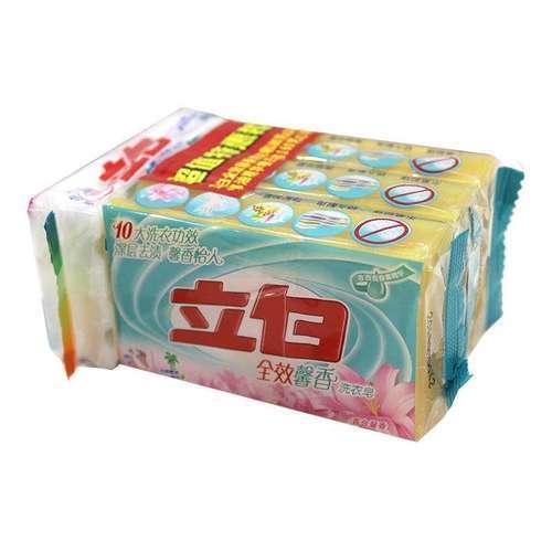 立白全效馨香洗衣皂  180克x3塊+立白椰油精華增白皂 160克