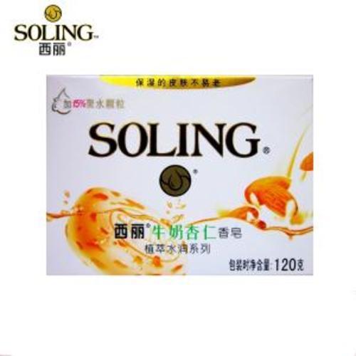 西丽牛奶杏仁香皂 120克