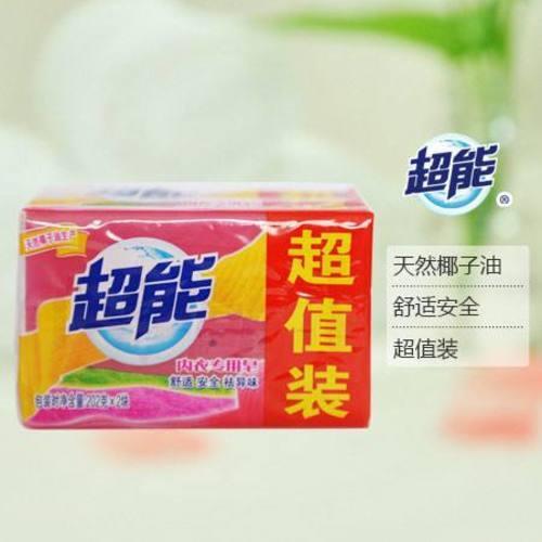 超能內衣專用皂 202克x2塊