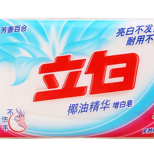 立白椰油精华增白皂 232克
