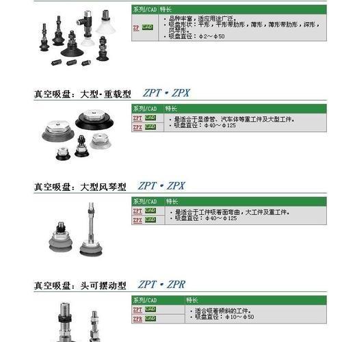 SMC-真空吸盘_上海蔓申实业有限公司