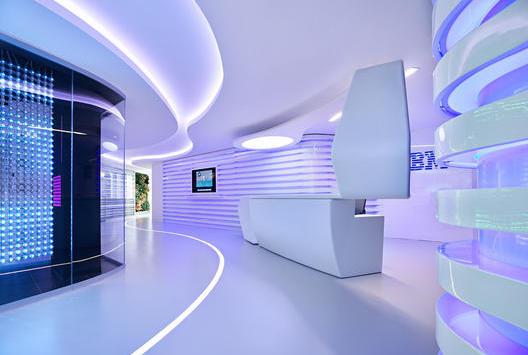 广州IMB科技公司办公室设计_办公室装修效果图