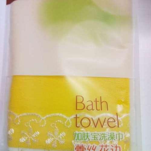 加肤宝洗澡巾 雷丝花边