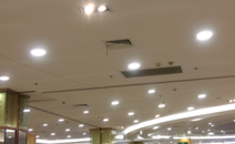 照明用于大型购物中心