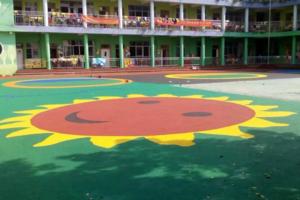 EPDM彩色塑胶地坪