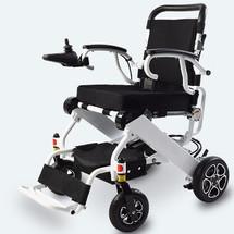 新品英洛华N5513超轻折叠电动轮椅车老年人四轮代步车