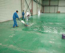 环氧地坪清洗打蜡养护的方法