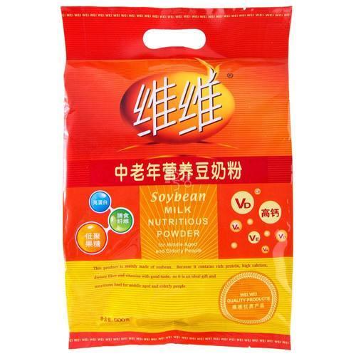 维维中老年营养豆奶粉