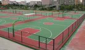 湖州长兴小浦镇84118部队塑胶篮球场
