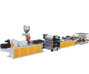 PVC 透明片材生产线