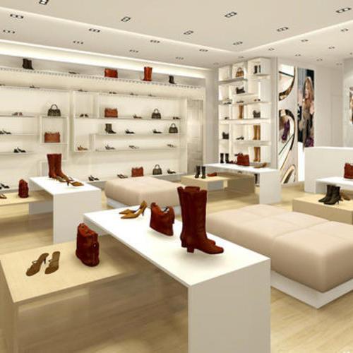 鞋专卖店道具制作