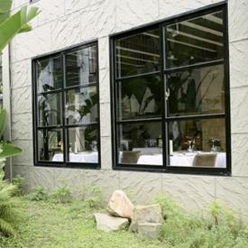 三层复合真空隔音窗