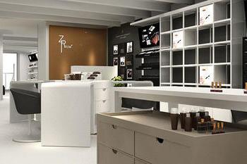 广州化妆品店铺装修设计效果图