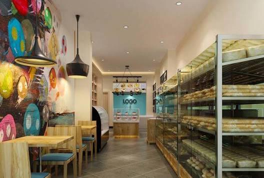 白云区蛋糕店空间装修设计案例