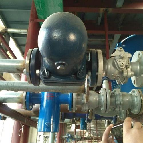 江蘇某化工公司使用浮球式疏水閥現場