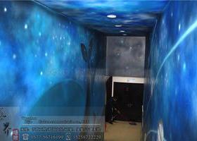 温州龙湾文化科技礼堂星空彩绘