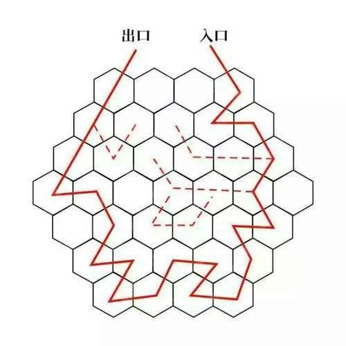 蜂巢迷宮7