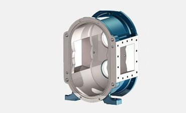 青岛罗德凸轮泵泵壳