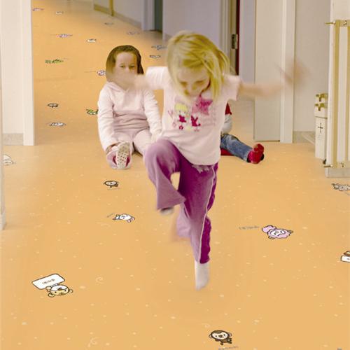 台宝12生肖卡通PVC地板