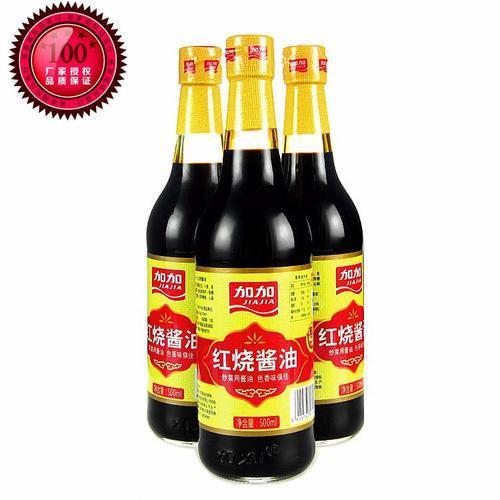 加加紅燒醬油 500ml