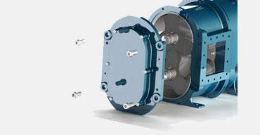 青岛罗德凸轮泵泵盖