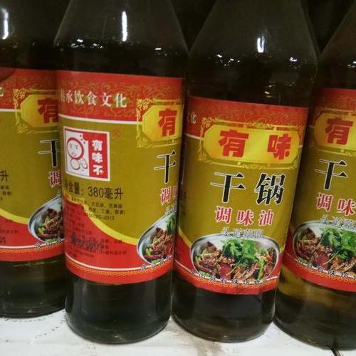 有味干锅调味油 380ml