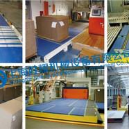 模块塑料网带应用与瓦楞纸加工行业