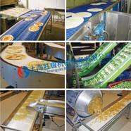 胜耀 塑料网带应用于零食加工行业