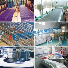 勝耀 模塊塑料網帶應用于物料輸送