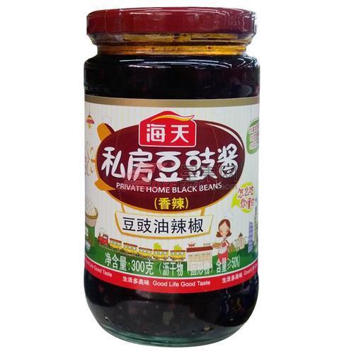 海天私房豆豉酱 300ml