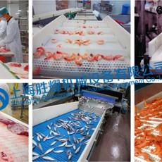 塑料網帶應用于肉類加工與水產品行業