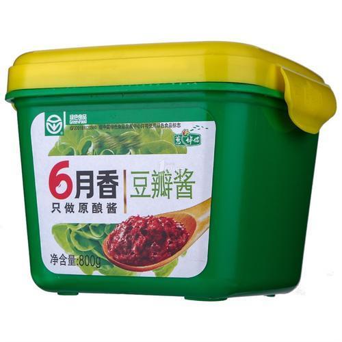 六月香豆瓣酱 800克
