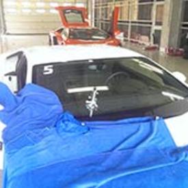 奔驰汽车玻璃修复